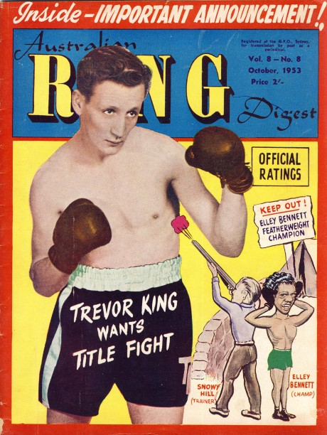 Australian Ring Digest October 1953 Trevor King