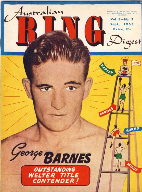 Australian Ring Digest September 1953 George Barnes