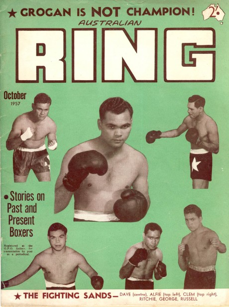 Australian Ring October 1957 The Fighting Sands
