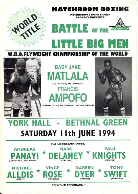Baby Jake Matala vs Franvis Ampofo - African Ring
