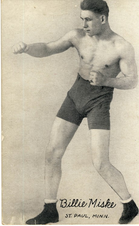 Billy Miske boxed 1913-1923 post card bouts 105 fought the best