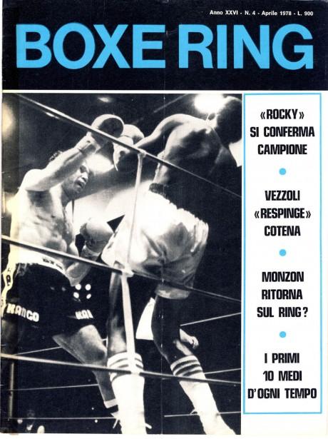 Boxe Ring April 1978