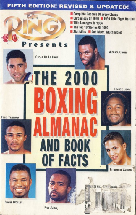 Boxing Almanac by Ring Magazine