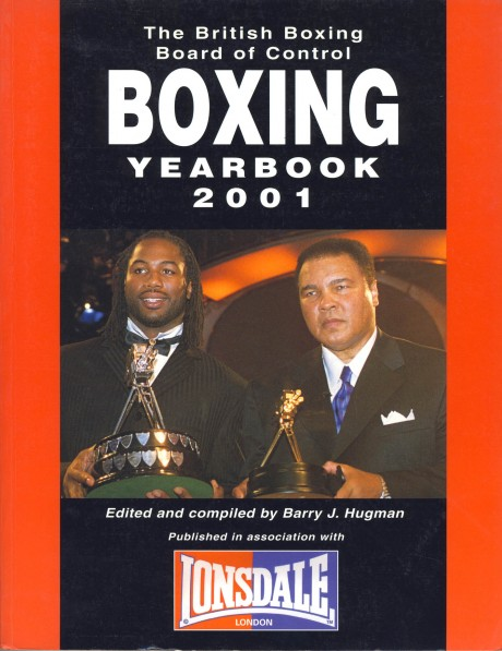 Boxing Year Book 2001 BBBC