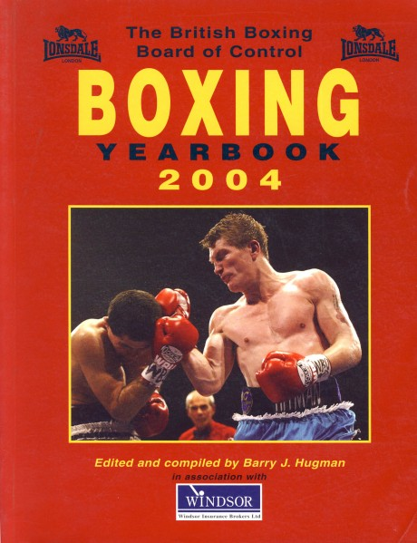 Boxing Year Book 2004 BBBC