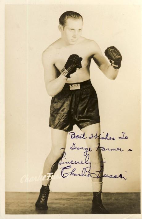 Charley Fusari boxed 1944-1952