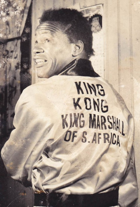 EZekial King Kong Dlamini SA Heavyweight Champion 1953 - African Ring