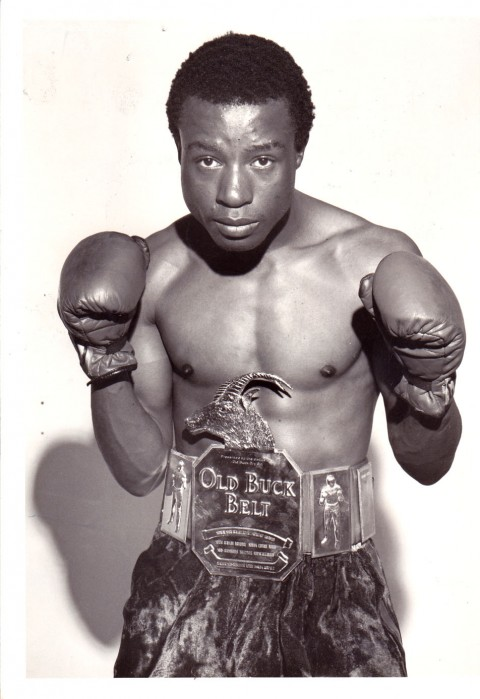 Evans Gwiji SA Jnr. Lightweight Champion 1978 - African Ring