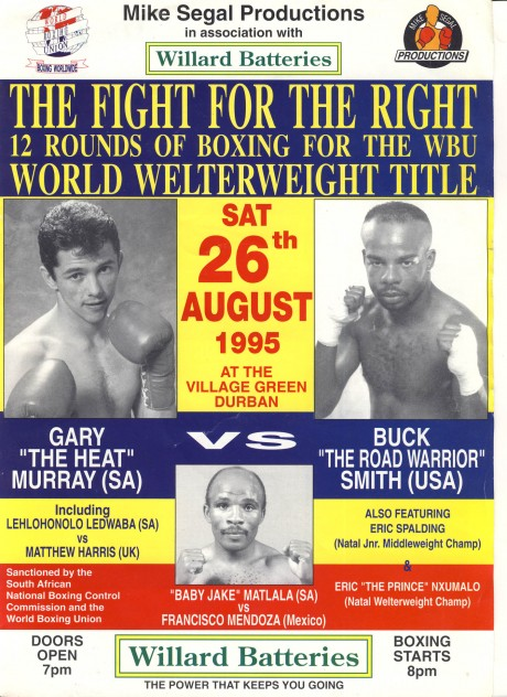 Gary Murray vs Buck Smith 1995