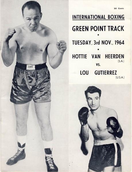 Hottie van Heerden vs Lou Gutierrez 1964