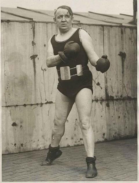 Jack Hare SA Bantamweight Champion 1899 - African Ring