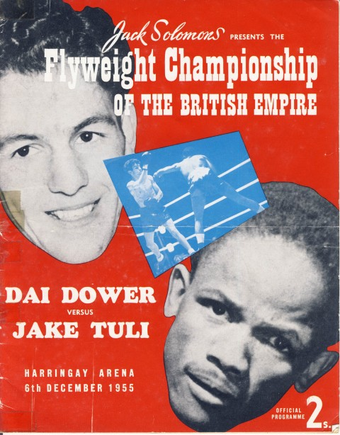 Jake Tuli vs Dai Dower - African Ring
