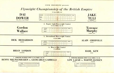 Jake Tuli vs Dai Dower - African Ring