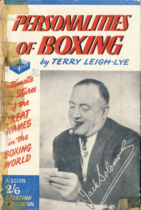 Personalities of Boxing by Terry Lei-Lye