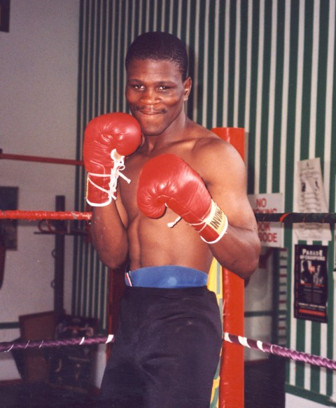 PPeter Malinga SA Welterweight Champion 1996 - African Ring