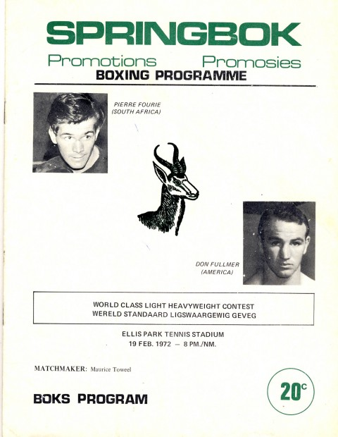 Pierre Fourie vs Don Fullmer - African Ring
