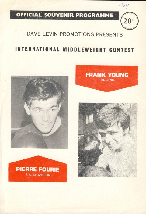 Pierre Fourie vs Frank Young - African Ring