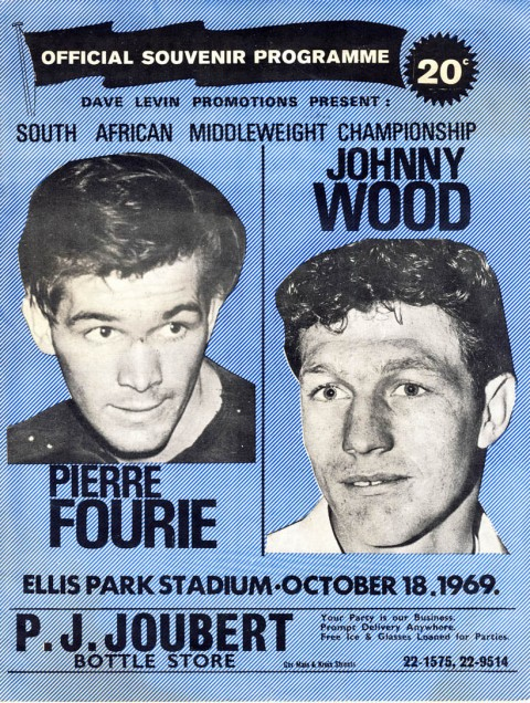 Pierre Fourie vs Johnny Wood - African Ring