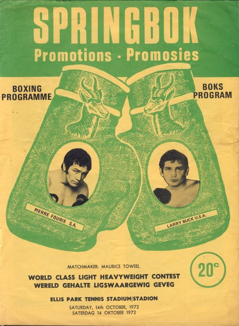 Pierre Fourie vs Larry Buck - African Ring