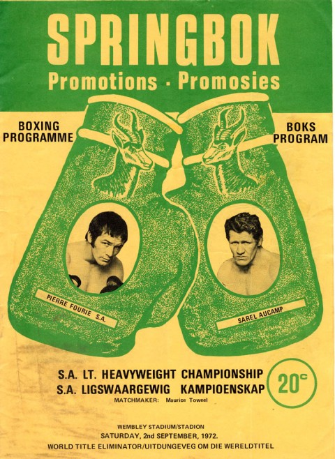 Pierre Fourie vs Sarel Aucamp - African Ring