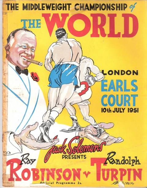 Ray Robinson vs Randy Turpin - African Ring