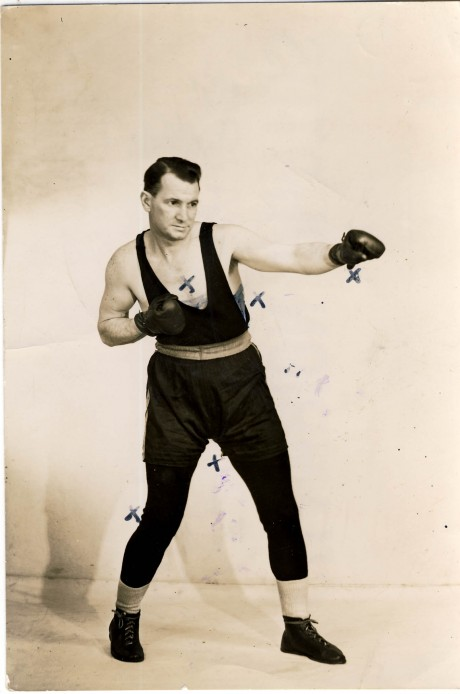 Reg Woodley boxed 1927-1932 vintage photo