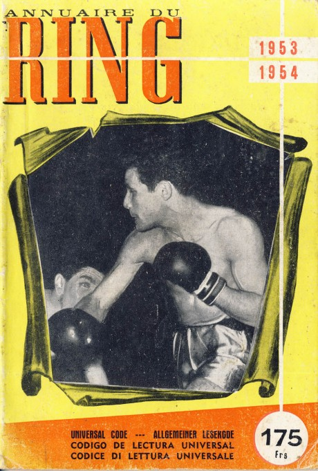 Ring France 1953-1954 Annual and Record Book