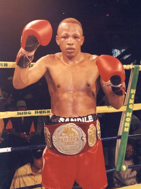 Sandile Sbandla SA Bantamweigh Champion 1998 - African Ring