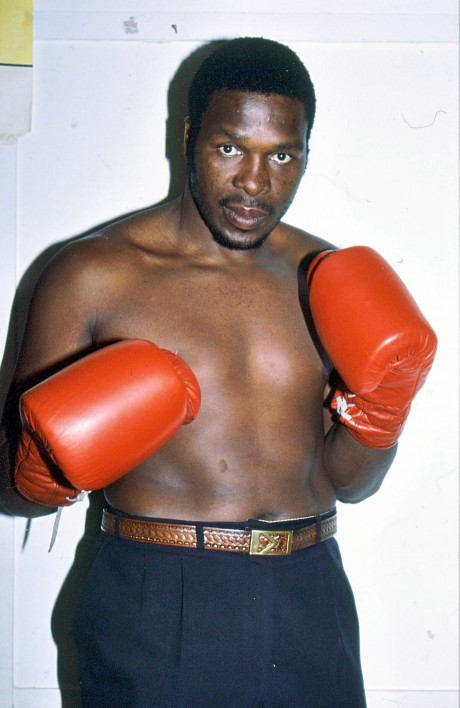 Siza Makathini IBF Intercontinental cruiserweight champion 1990