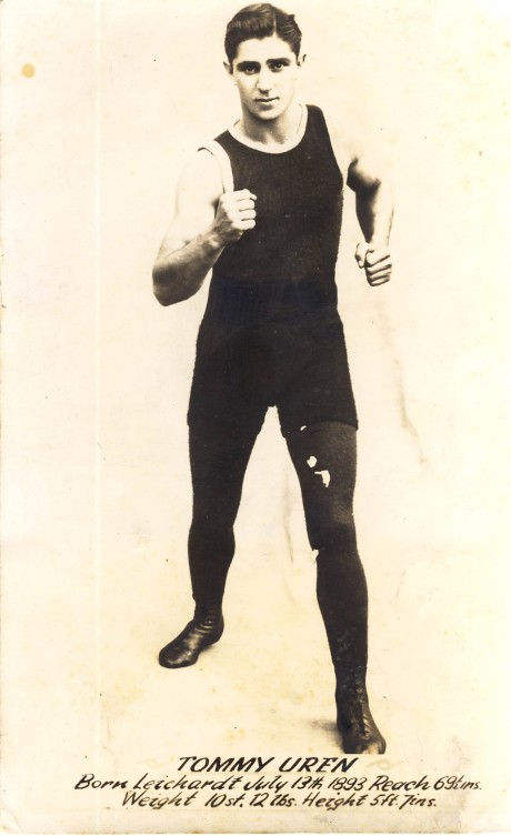 Tommy Uren boxed 1913-1930 bouts 180