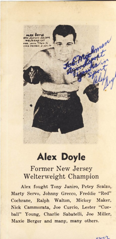 Alex Doyle 1937-1948
