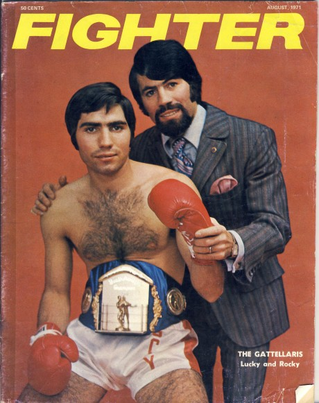 Australian Fighter August 1971 Lucky and Rocky Gattellaris