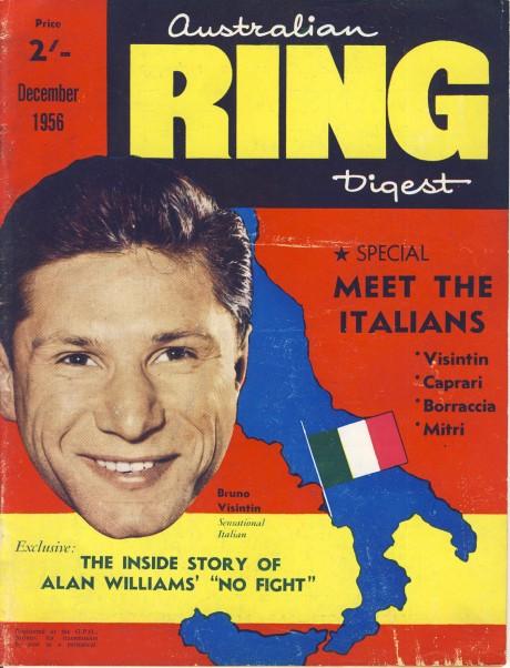 Australian Ring Digest December 1956 – Bruno Visintint