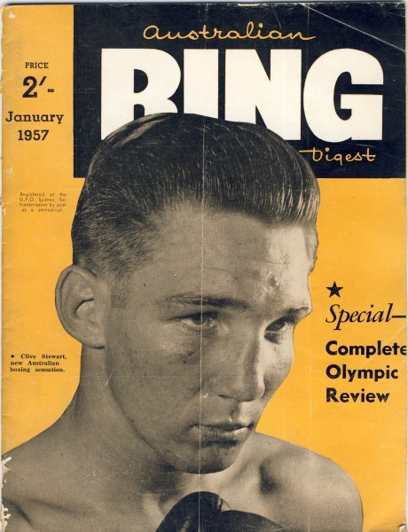 Australian Ring Digest January 1957 Clive Stewart