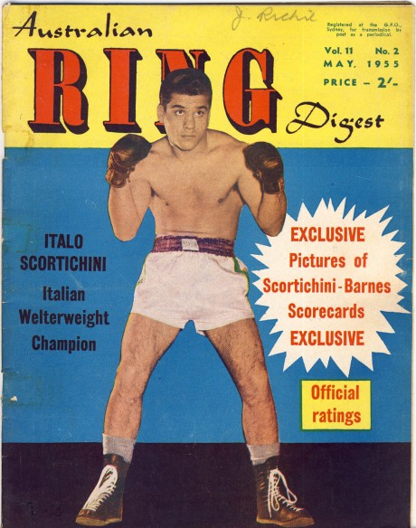Australian Ring Digest May 1955 Italo Scortichini