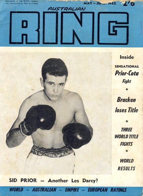 Australian Ring Digest May 1962 Sid Prior
