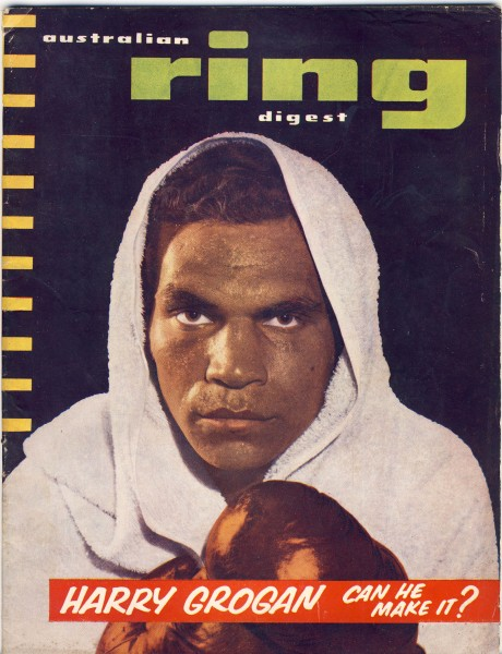 Australian Ring Digest October 1955 Harry Grogan