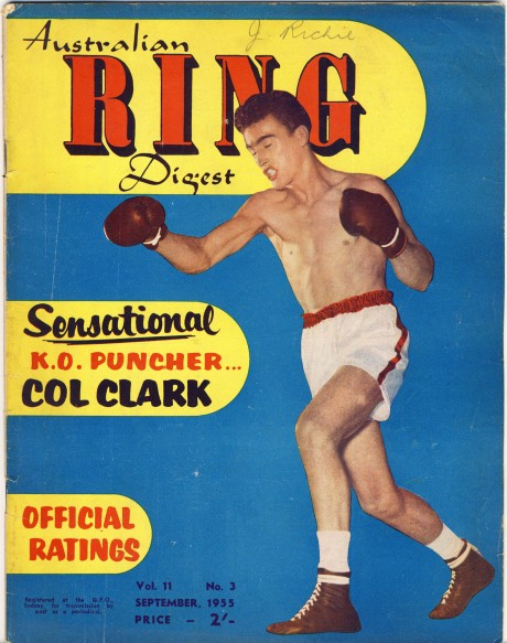 Australian Ring Digest September 1955 Col Clark