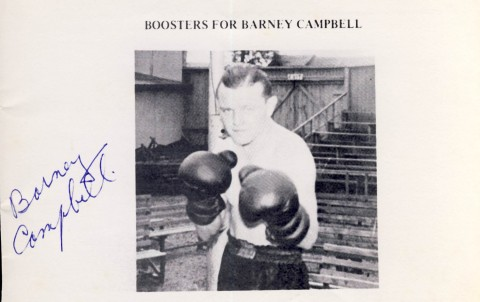 Barney Campbell - African Ring
