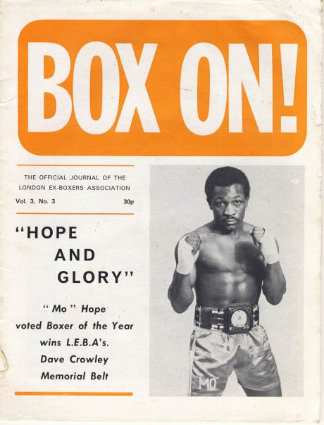 Box On 1971 – Maurice Hope