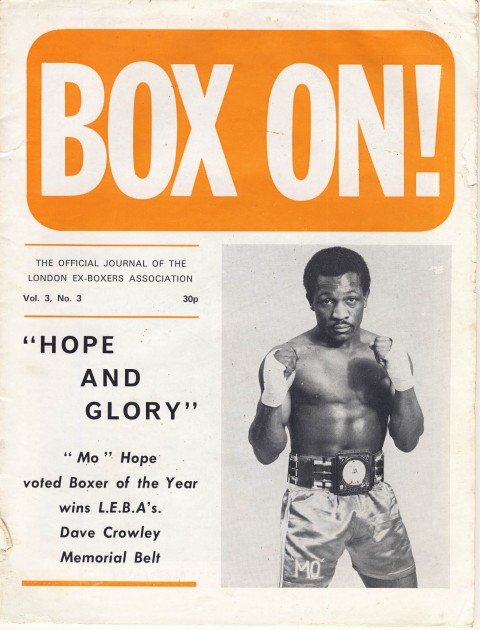 Box On 1971 - African Ring