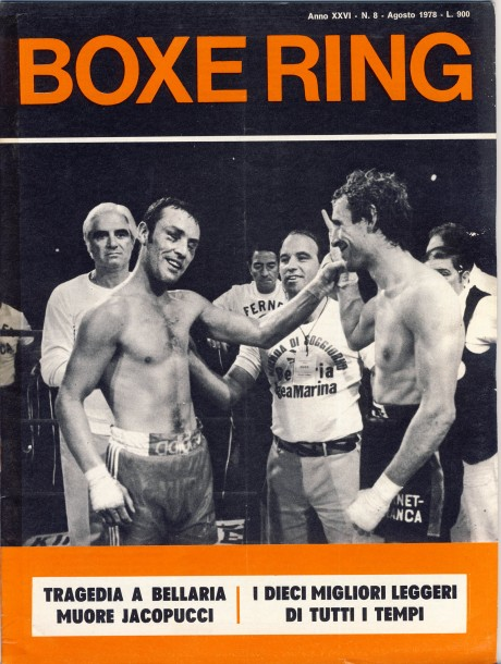 Boxe Ring August 1978