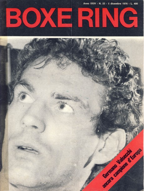 Boxe Ring December 1976 Germano Valsecchi