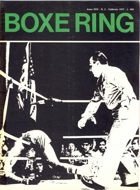 Boxe Ring February 1977
