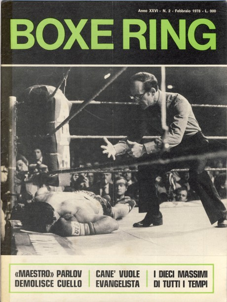 Boxe Ring February1978