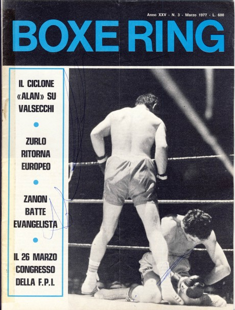 Boxe Ring March 1977