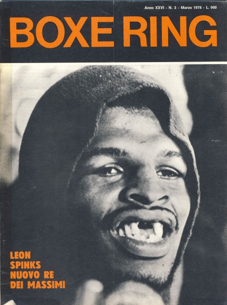 Boxe Ring March 1978 Leon Spinks
