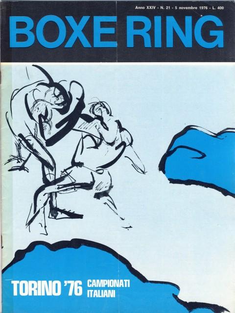 Boxe Ring Nov 1976 - African Ring