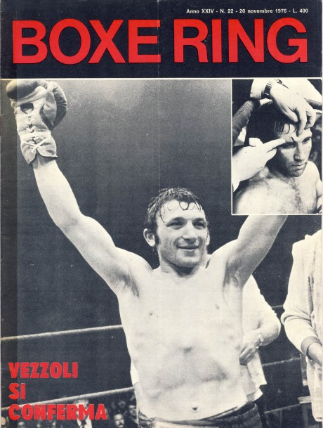 Boxe Ring November 1976 Vezzolii