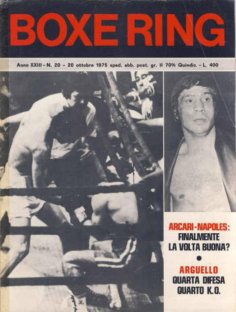 Boxe Ring October 1975 - African Ring
